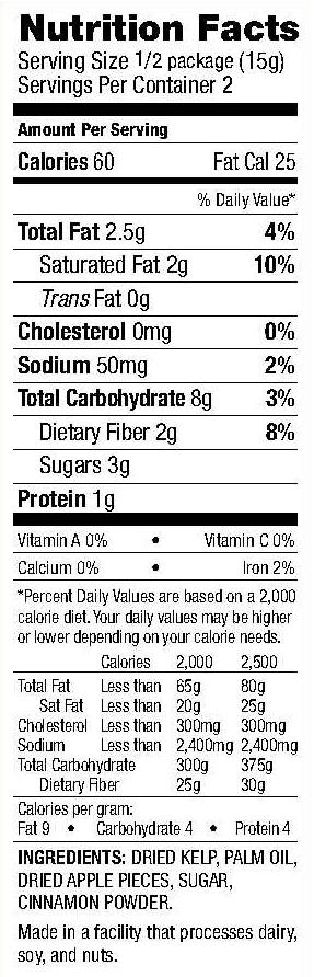 apple-cinnamon-nutrition